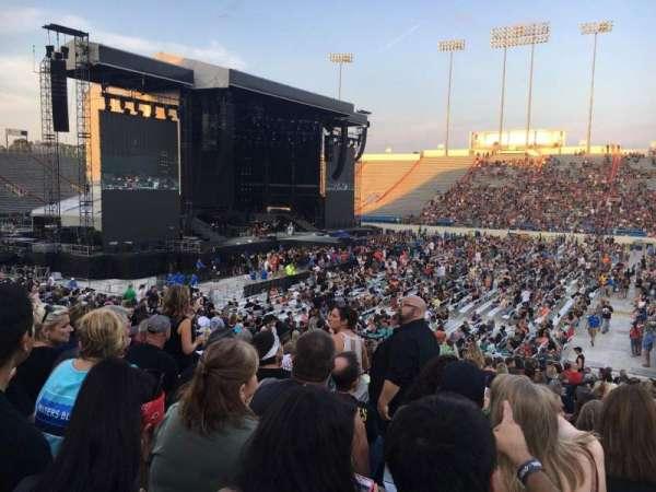 War Memorial Stadium (Little Rock), section: 24, row: 28, seat: 21