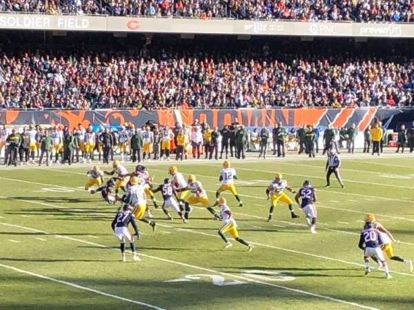 Soldier Field, section: 144, row: 16, seat: 20