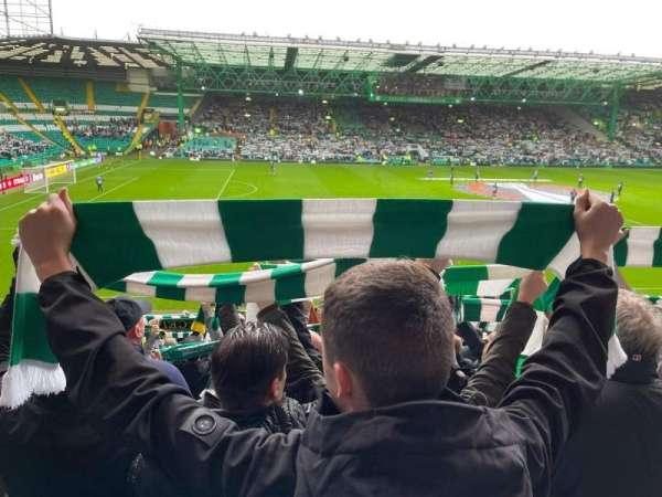 Celtic Park, section: 107, row: X, seat: 25
