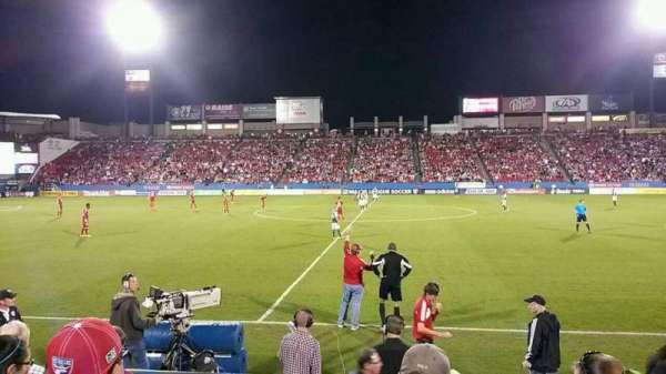 Toyota Stadium, section: 106, row: 5, seat: 15