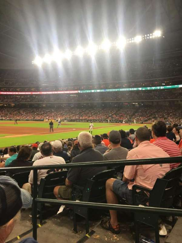 Minute Maid Park, section: 109, row: 13, seat: 13