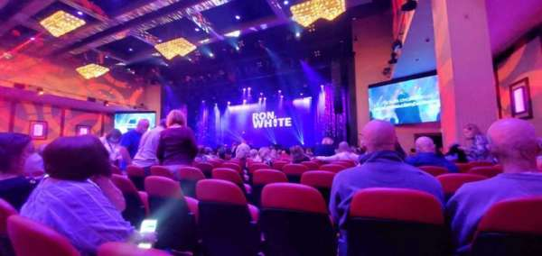 Xcite Center at Parx Casino, section: C2, row: T, seat: 18