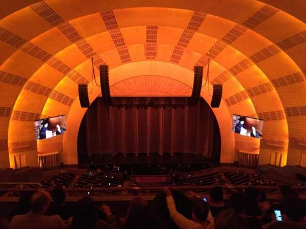 Radio City Music Hall, section: 3rd Mezzanine 4, row: E, seat: 409