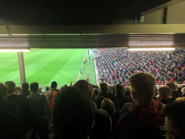 Anfield, section: 122, row: 34, seat: 24