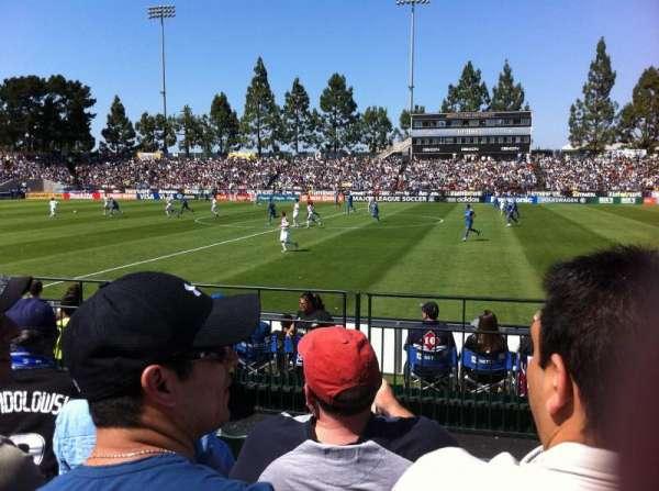 Stevens Stadium, section: 117, row: 4