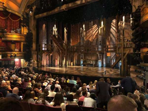 Richard Rodgers Theatre, section: Orchestra R, row: M, seat: 20