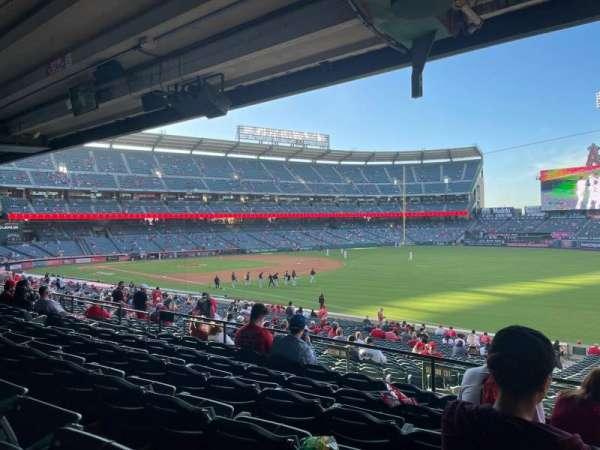 Angel Stadium, section: T228, row: F, seat: 14