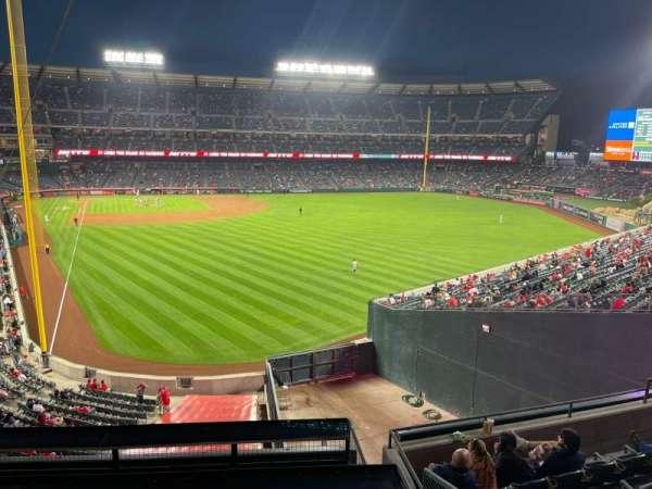 Angel Stadium, section: C351, row: Tbl 2, seat: 1