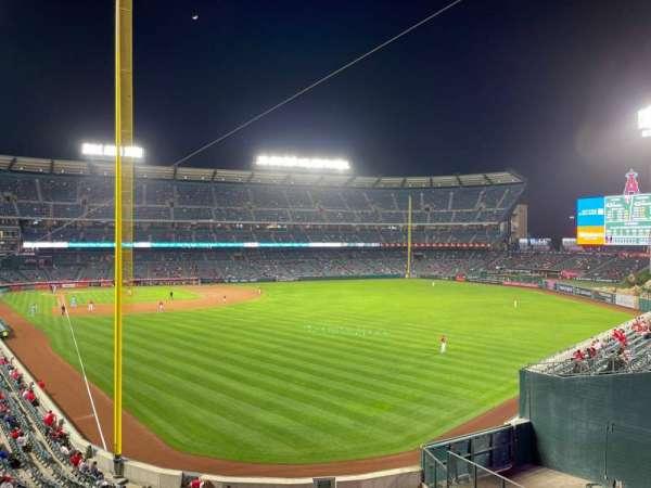 Angel Stadium, section: C350, row: AA, seat: 7
