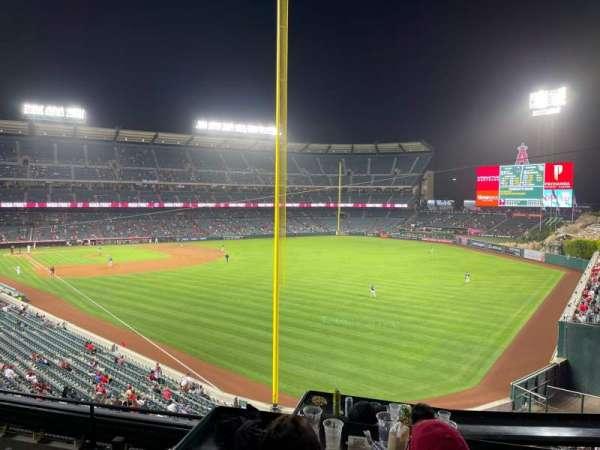 Angel Stadium, section: C349, row: CC, seat: 2