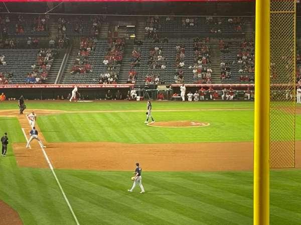 Angel Stadium, section: C350, row: AA, seat: 2