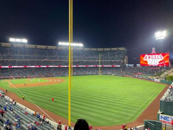 Angel Stadium, section: 349, row: BB, seat: 6