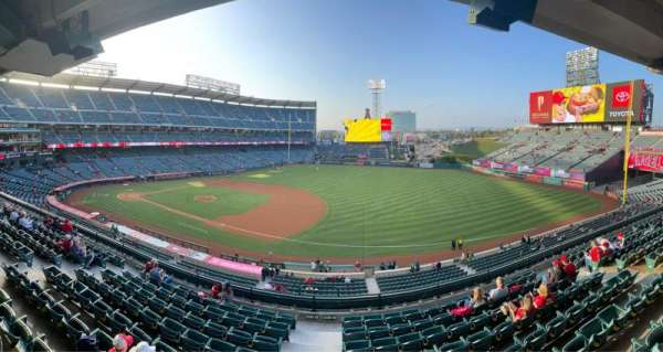 Angel Stadium, section: Suite 67, row: A, seat: 1