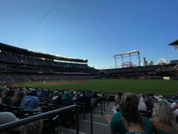 T-Mobile Park, section: 115, row: 12, seat: 11