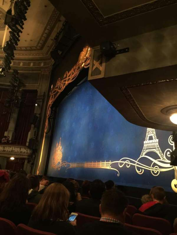 Broadhurst Theatre, section: Orchestra R, row: F, seat: 22