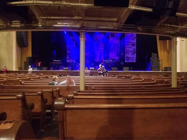Ryman Auditorium, section: MF-3, row: S, seat: 12