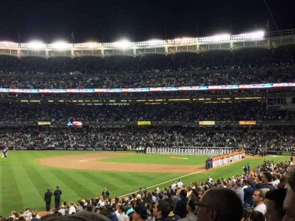 Yankee Stadium, section: 130, row: 25, seat: 1