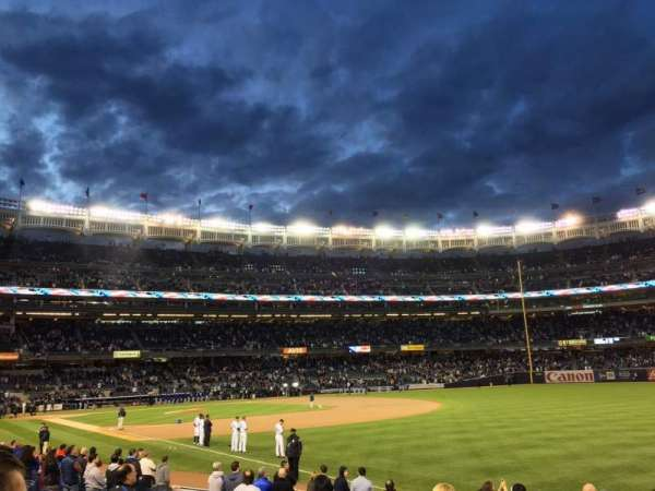 Yankee Stadium, section: 110, row: 14, seat: 2