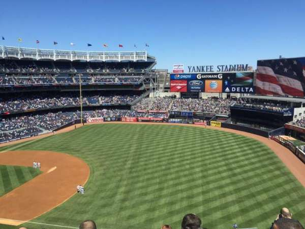 Yankee Stadium, section: 312, row: 3, seat: 3