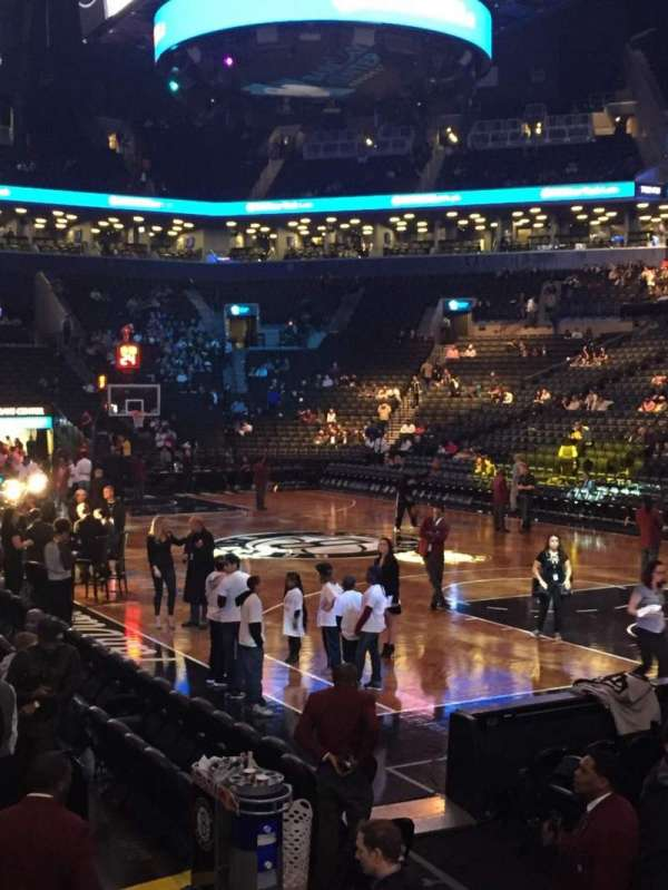 Barclays center, section: 4, row: 20, seat: 3