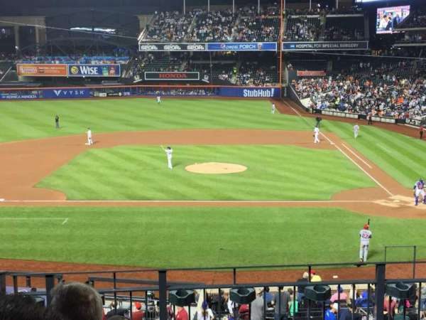 Citi Field, section: 119, row: 5, seat: 6