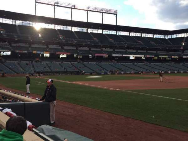 Oriole Park at Camden Yards, section: 14, row: 2, seat: 5