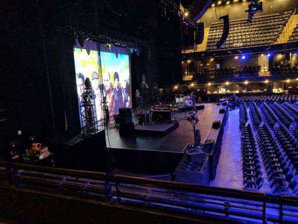 The Moody Theatre  Austin, Texas, section: mezz, row: B, seat: 312