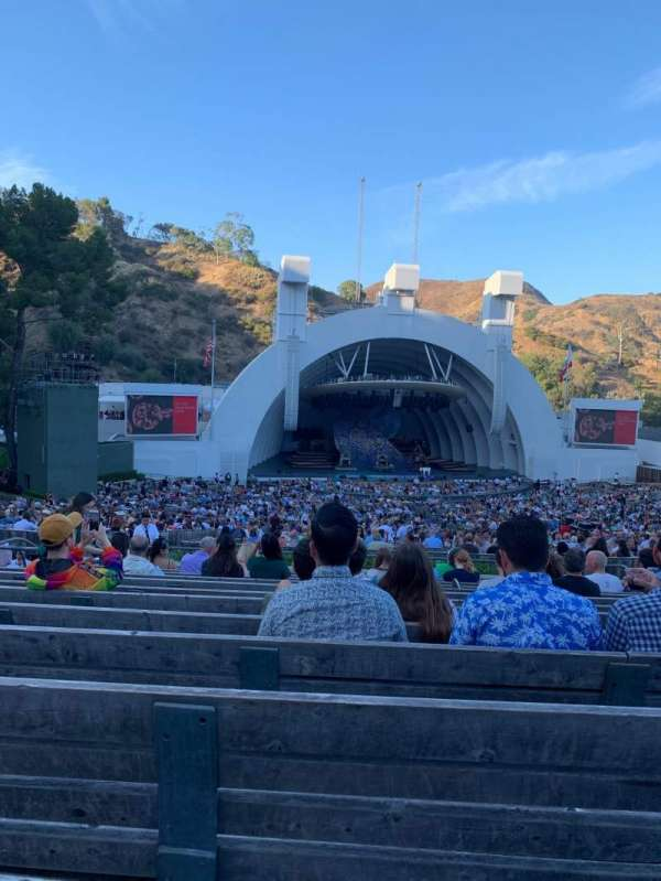 Hollywood Bowl, section: J2, row: 13, seat: 23