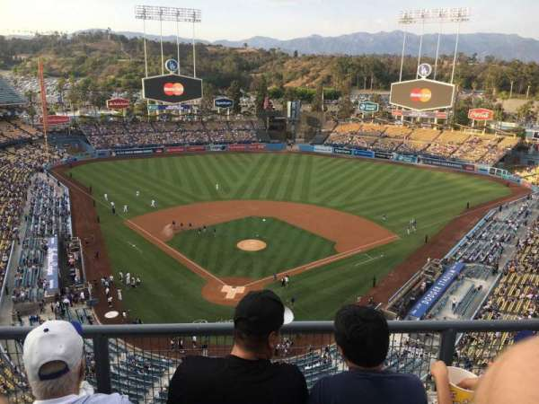 Dodger Stadium, section: 2TD, row: C, seat: 13