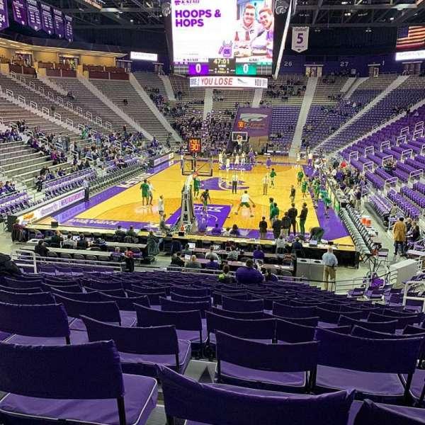 Bramlage Coliseum, section: 13, row: 20, seat: 7