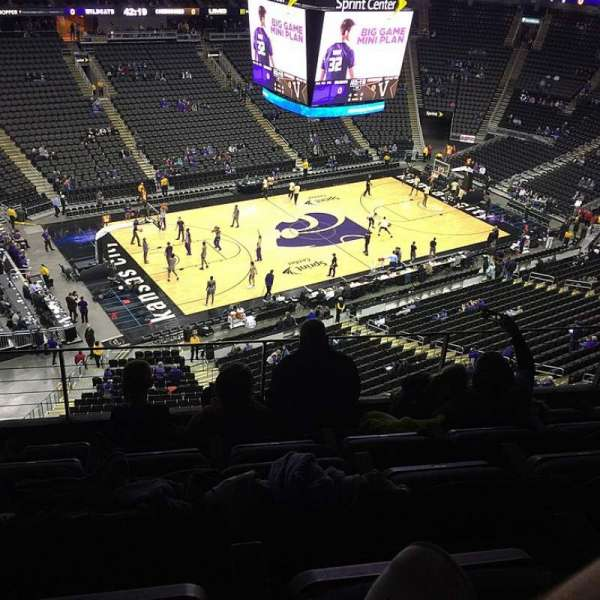 Sprint Center, section: 211, row: 5, seat: 14