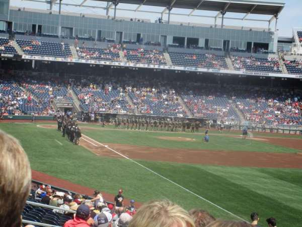 TD Ameritrade Park, section: 101, row: 29, seat: 10