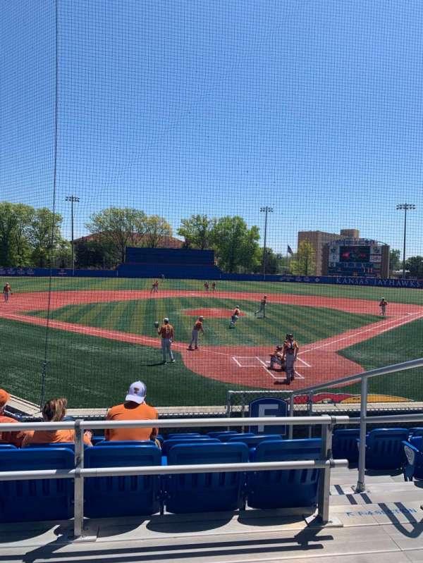 Hoglund Ballpark, section: C, row: 2, seat: 1