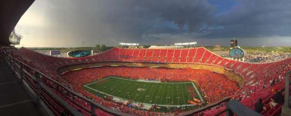 Arrowhead Stadium, section: ADA320, row: A1, seat: 16