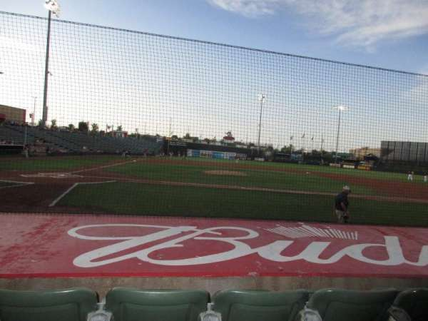 T-Bones Stadium, section: 105, row: 7, seat: 14