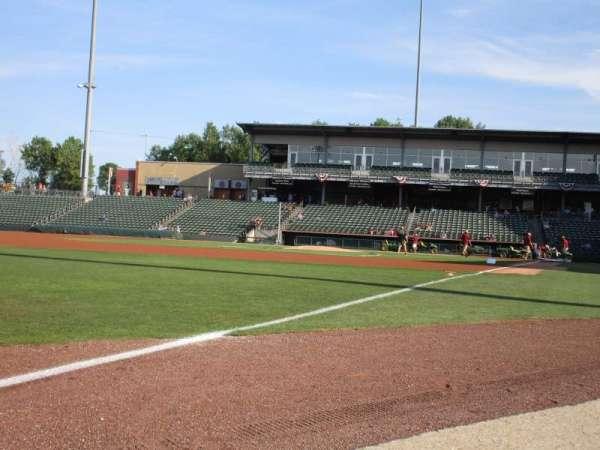 T-Bones Stadium, section: 116, row: 1, seat: 3