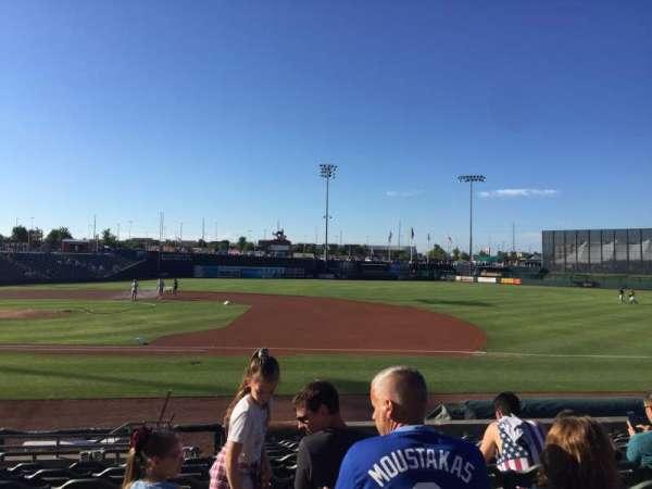 T-Bones Stadium, section: 109, row: 12, seat: 7