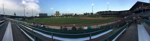 T-Bones Stadium, section: 116, row: 5, seat: 5