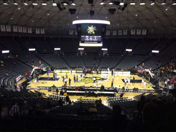 Charles Koch Arena, section: 120, row: 30, seat: 6
