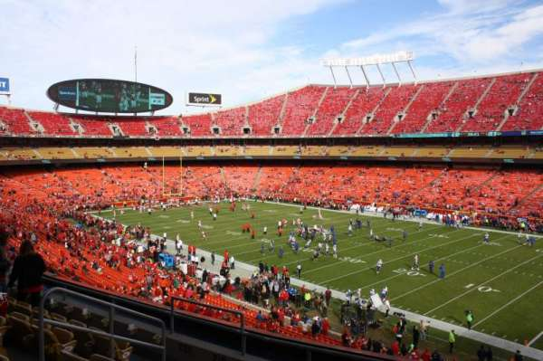 Arrowhead Stadium, section: 219, row: 6, seat: 11