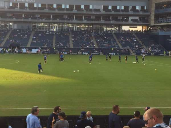 Children's Mercy Park, section: 131, row: 10, seat: 8