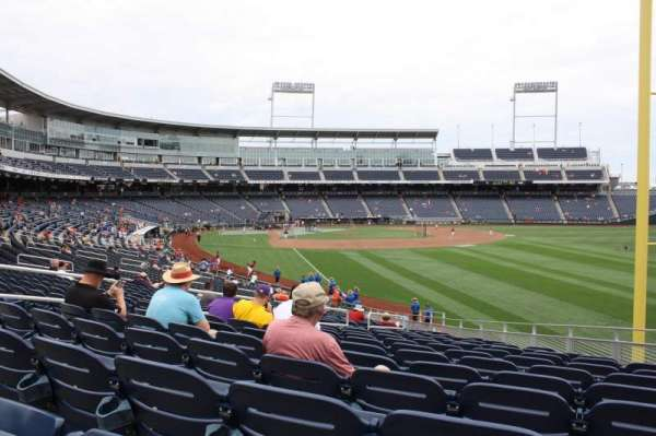 TD Ameritrade Park, section: 100, row: 30, seat: 12