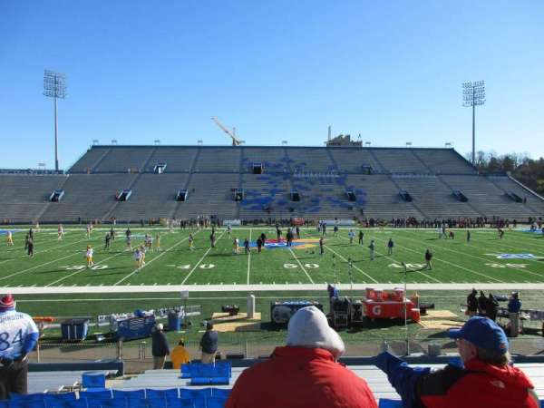 David Booth Kansas Memorial Stadium, section: 6, row: 19, seat: 18