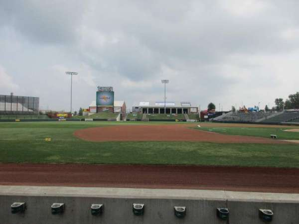 T-Bones Stadium, section: 110, row: 3, seat: 7