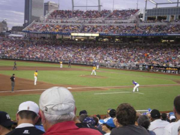 TD Ameritrade Park, section: 119, row: 18, seat: 22