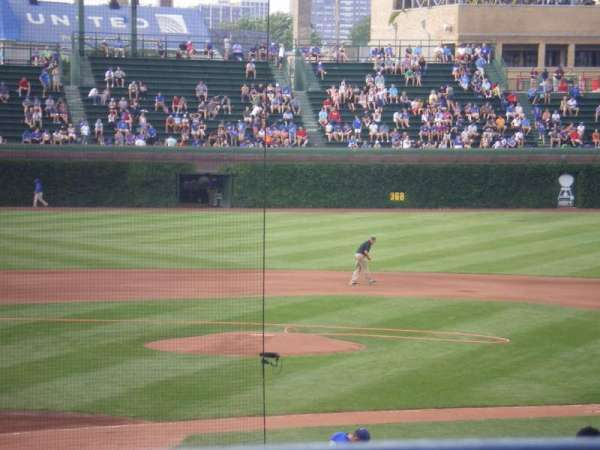 Wrigley Field, section: 224, row: 1, seat: 108