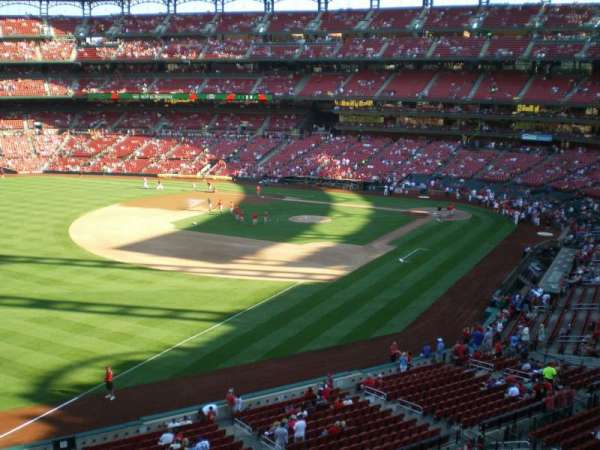 Busch Stadium, section: 267, row: 1, seat: 3