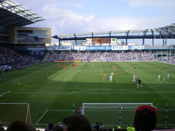Children's Mercy Park, section: SOUTH5, row: G11, seat: 15