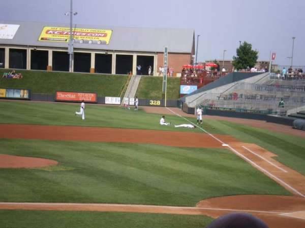 T-Bones Stadium, section: 106, row: 15, seat: 14