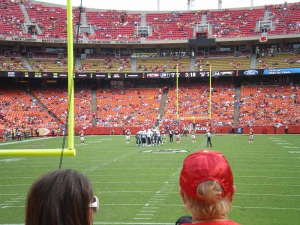 Arrowhead Stadium, section: 128, row: 11, seat: 3